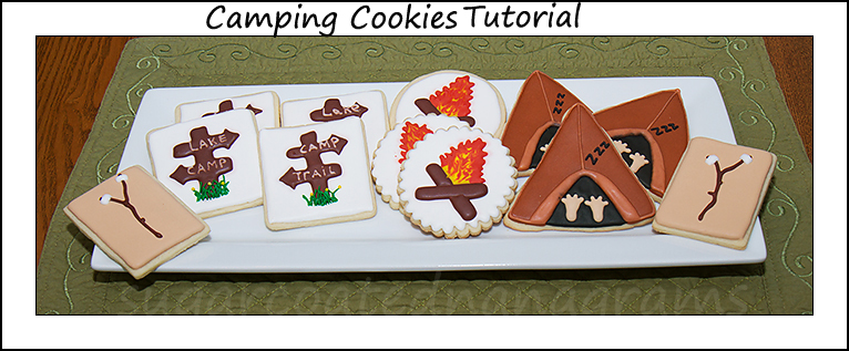 Camping cookie platter copy