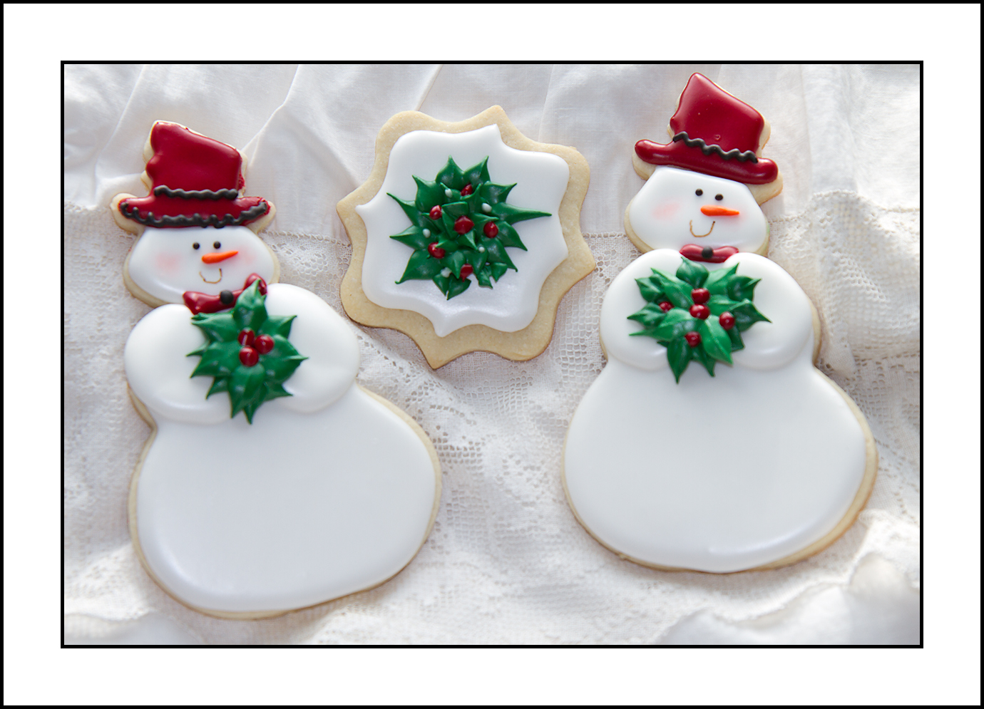 It\'s time for Christmas cookies! - Sugar Coated Nanagrams