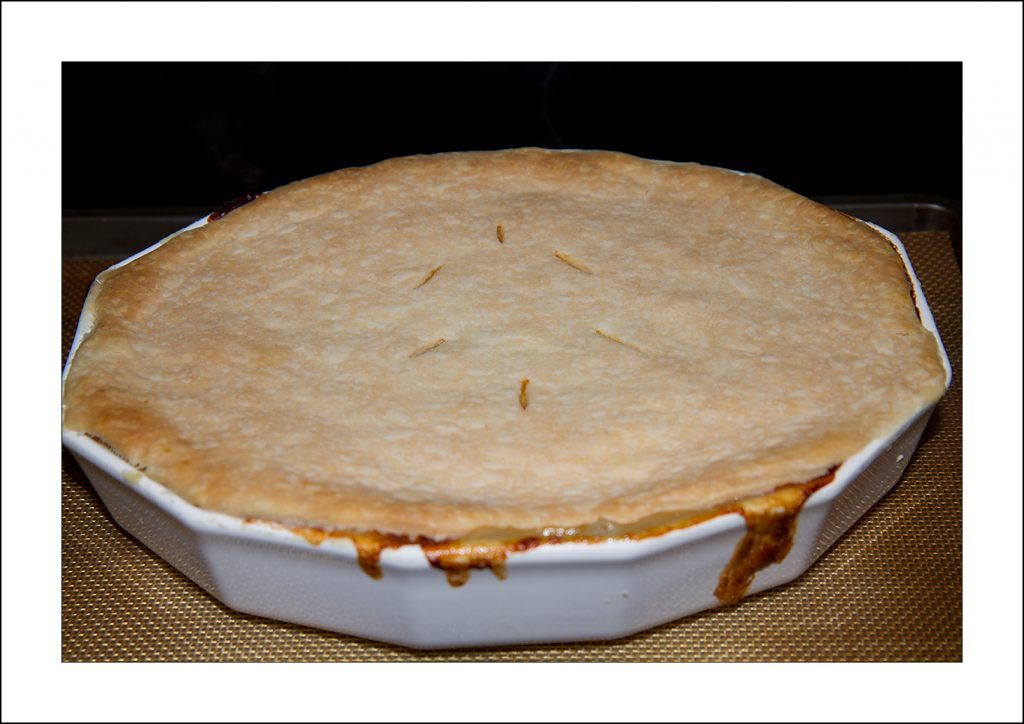 Low Iodine Chicken Pot Pie